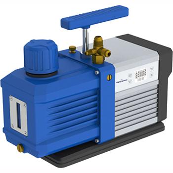 Mighty Mounts 16 CFM Vacuum Pump With Digital Vacuum Gauge