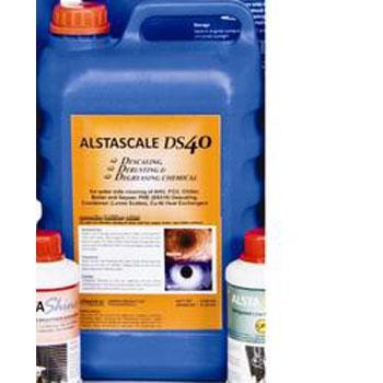 Alstascale DS 40 for descaling degrading derusting