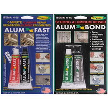 Hypoxy AlumBond & AlumFast Strong & Instant Leak Repair