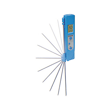Mastercool 52226 Infrared Thermometer With Contact Probe