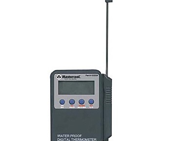 Mastercool 52229 Handheld Waterproof Digital Thermometer