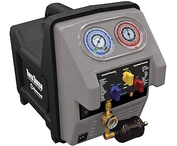 Mastercool 69350-Twin Turbo Recovery unit with Oil Separator