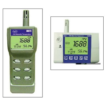 Supco IAQ-50 and IAQ-55 Indoor Air Quality Monitors