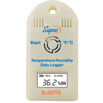Supco SL400TH Mini Data Logger