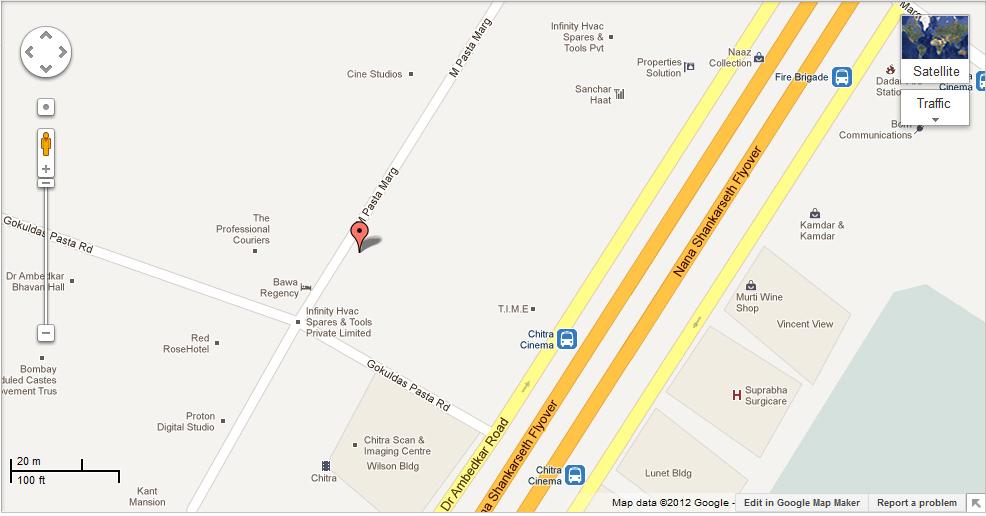 Dadar Map