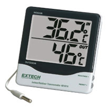 Extech 401014- Big Digit Indoor/Outdoor Thermometer