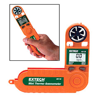 Extech 45118- Mini Thermo-Anemometer