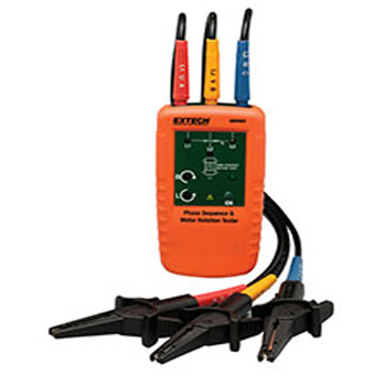 Extech 480403: Motor Rotation and 3-Phase Tester