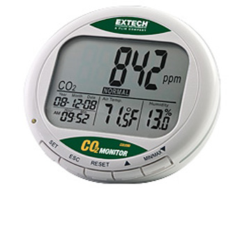 Extech CO200- Desktop Indoor Air Quality CO2 Monitor