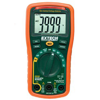 Extech EX330- 12 Function Mini MultiMeter + Non-Contact Voltage Detector