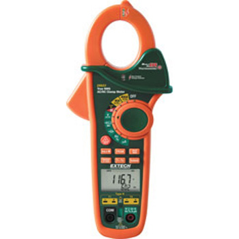 Extech EX623- 400A Dual Input AC/DC Clamp Meter + NCV + IR Thermometer