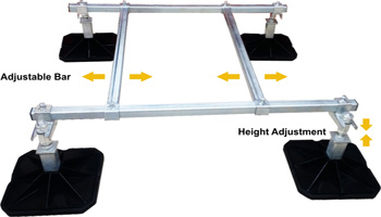 Mighty Mounts Mighty foot Modular Framework