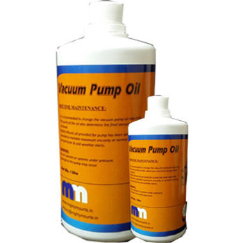 Mighty Mounts Vacuum Pump oil
