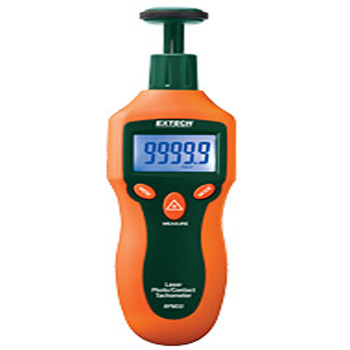 Extech RPM33- Combination Contact/Laser Photo Tachometer