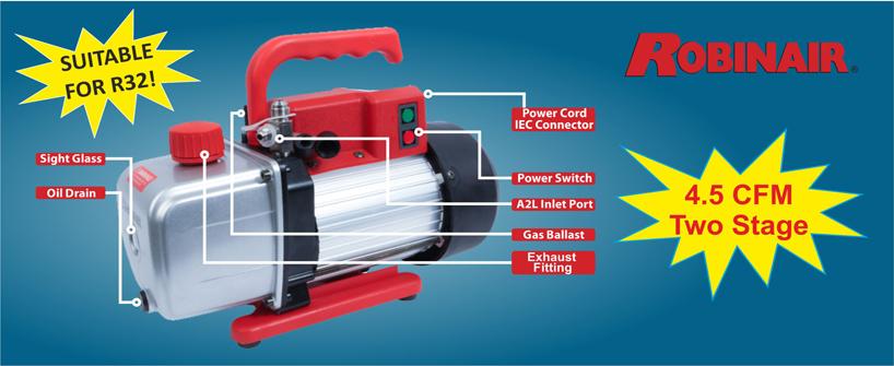 Robinair vacuum pump 32
