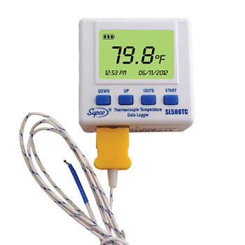 Supco SL500TC Thermocouple Logger With Display